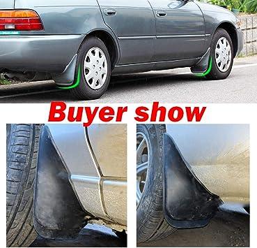 Wheel Splash Guard Fit 1992-1999 T-oyota Corolla TUPARTS Automotive Front Rear Mud Flaps