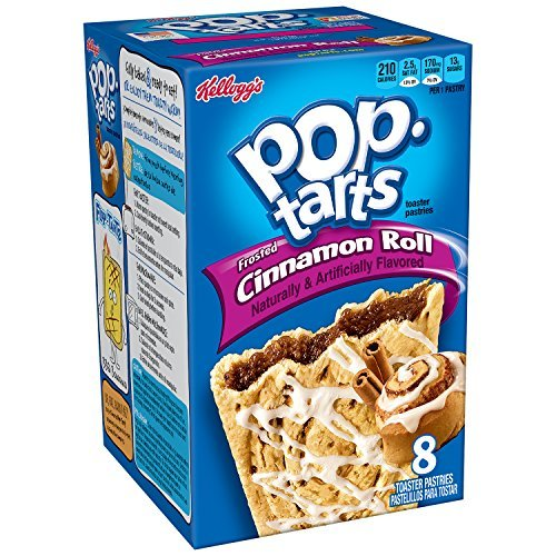 Pop-Tarts, Frosted Cinnamon Roll, 8-Count Tarts (Pack of 12) by Pop-Tarts ()
