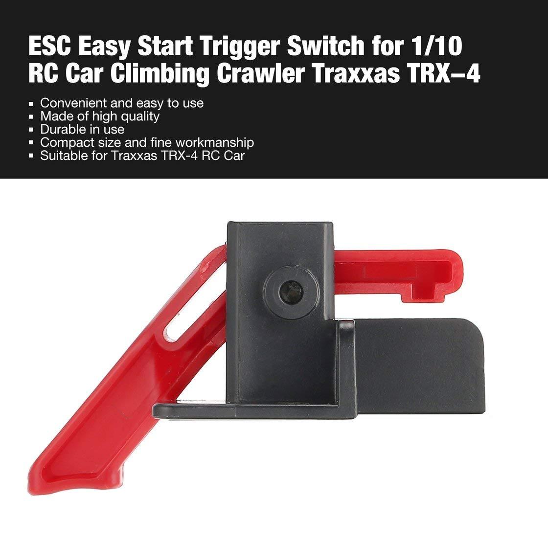 Für 1//10 RC Crawler Traxxas TRX-4 Start Trigger Halterung Kunststoff Verkauf
