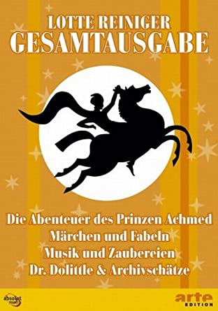 Amazon.com: Lotte Reiniger Gesamtausgabe (8 DVDs): Movies & TV