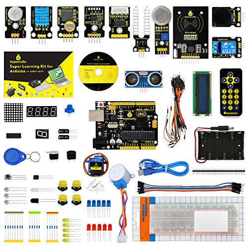 KEYESTUDIO Uno Starter Kit for Arduino, Perfect STEM Educational Gifts