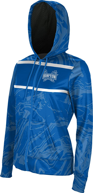 Ripple Hampton University Girls Pullover Hoodie School Spirit Sweatshirt  Active Active Sweatshirts
