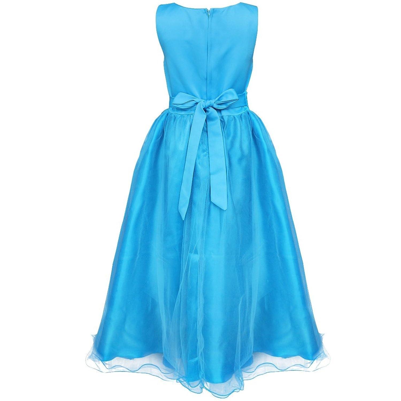 Amazon.com: YiZYiF Kids Girl\'s Sequined Wedding Bridesmaid Formal ...