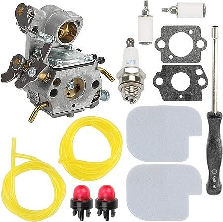 Carburetor Repair Rebuild Kit For Poulan P3314 PP3516 PP4018 Carb Chainsaw Part