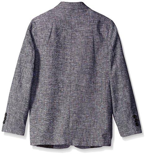 Perry Ellis Big Boys' Tickweave Suit, Black, 08 by Perry Ellis (Image #2)