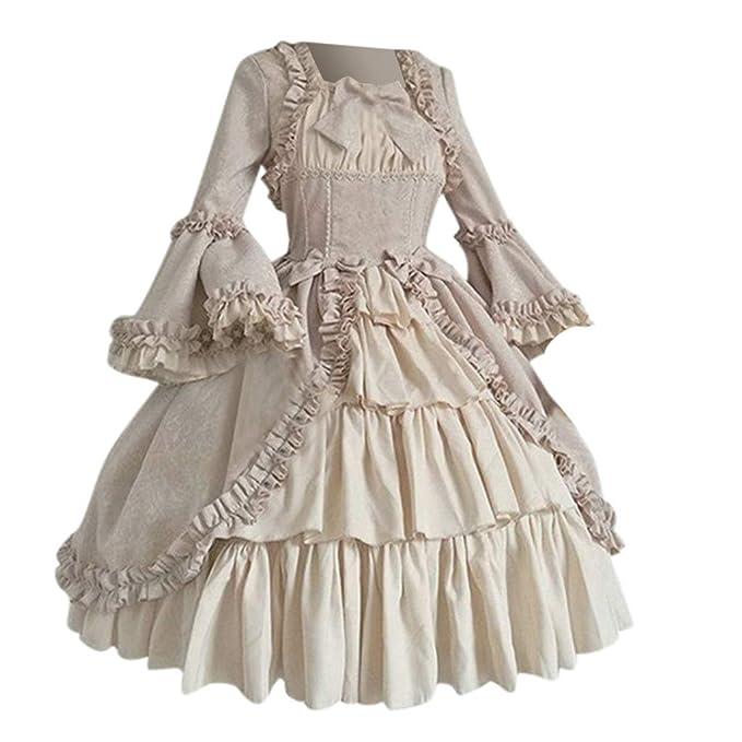 Vestido Medieval Renacimiento Mujer Vestido Medieval Gótico ...