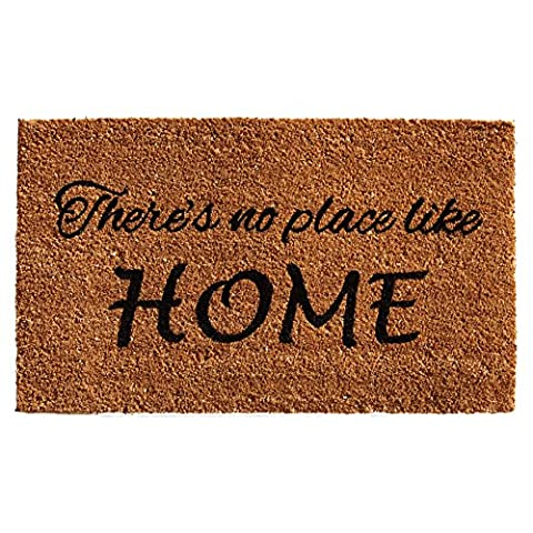 Home & More 121252436 No Place Like Home Doormat, 24
