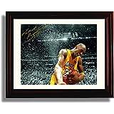 "Framed Kobe Bryant ""Celebration"" Los Angeles Lakers Autograph Replica Print"