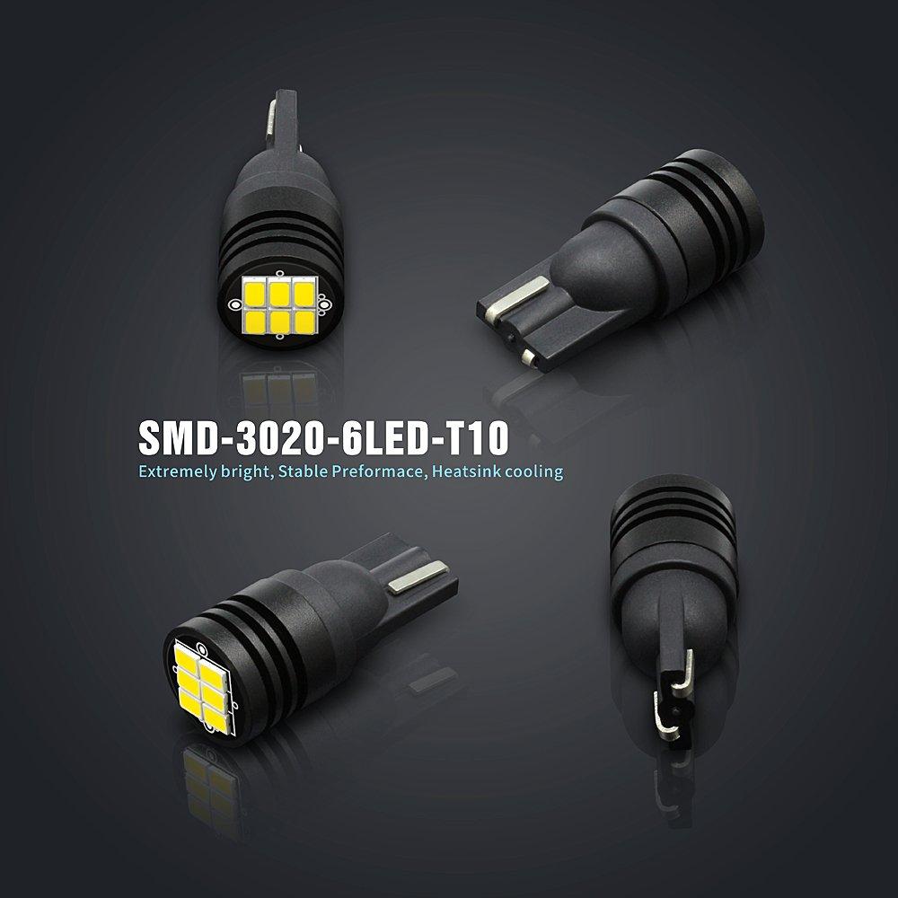 SiriusLED 400 Lumen Pure White Canbus Error Free 3020 Chip LED Festoon Bulb  DE3175 6411 211-2 194 168 T10