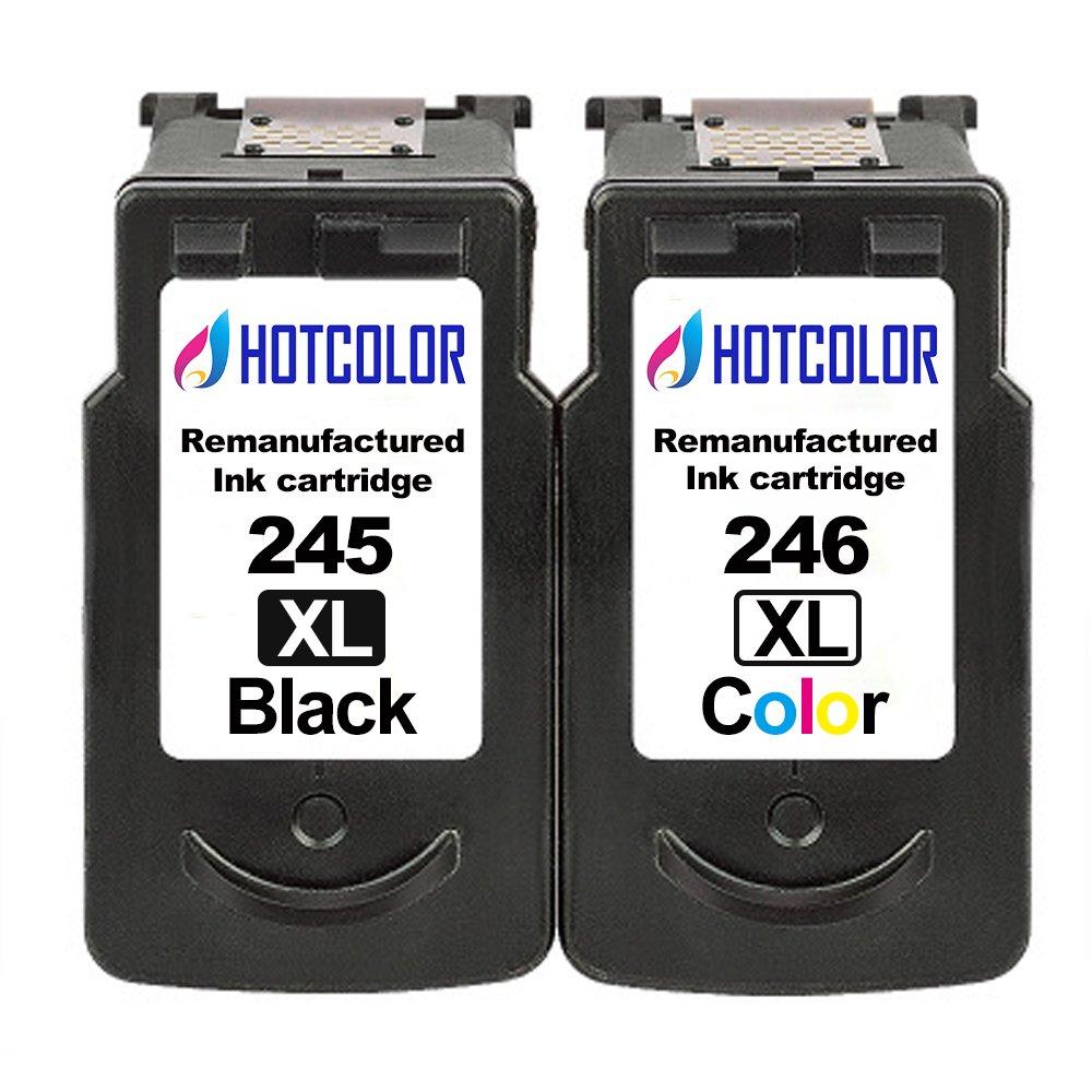 4PK PG245XL CL246XL Set Black Color Ink Cartridge for Canon PIXMA MG2420 MG2922