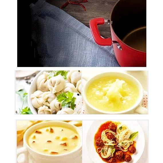 ... sopa olla de leche caliente del hogar olla de sopa de fideos hervida olla de sopa de doble fondo engrosada olla de sopa nutritiva olla de carne guisada ...
