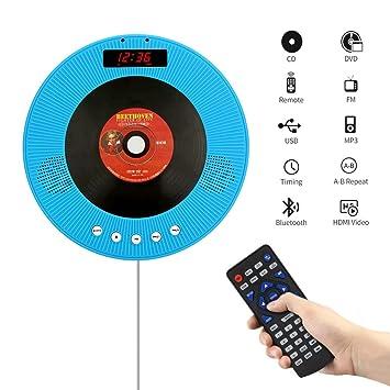 Amazon.com: YOOHOO - Reproductor de DVD portátil con ...