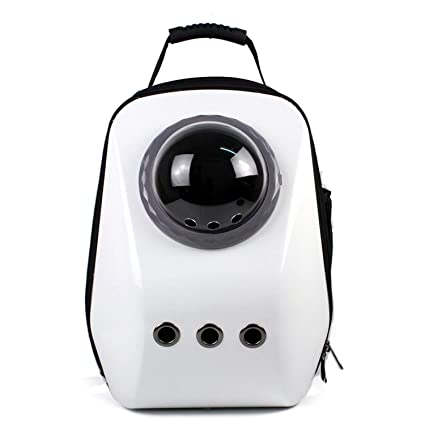 shine-hearty Dog Cat Backpack Space Capsule Astronaut Outdoor Travel Pet Carrier Dog Cat Carrier