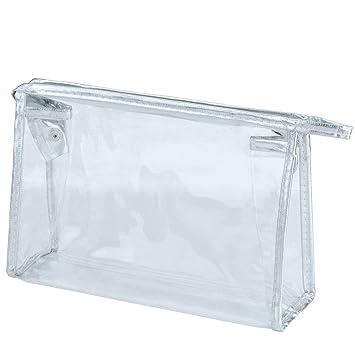 Transparente Impermeable Bolso cosmético, Tukistore Claro ...
