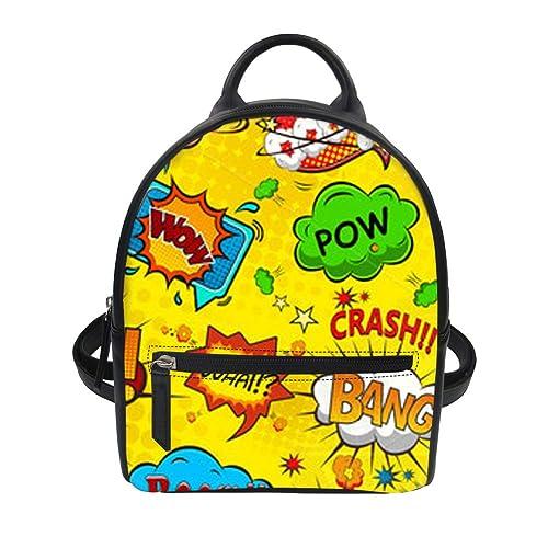 TRENAND mochila mujer escolar barata bolsos piel mochila
