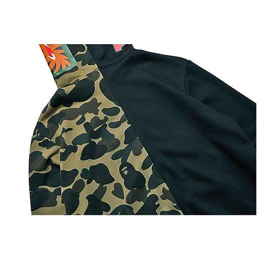 Boca Grande tiburón Ape Bape para Hombre Mujeres Camiseta de Hip ...