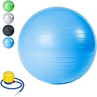 Wolketon Gymnastikball Balance Ball für Core Strength Beckenübungen Sitzball Maximalbelastbarkeit