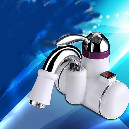 Calentador instant¨¢neo del grifo de agua caliente, calentadores de paso el¨