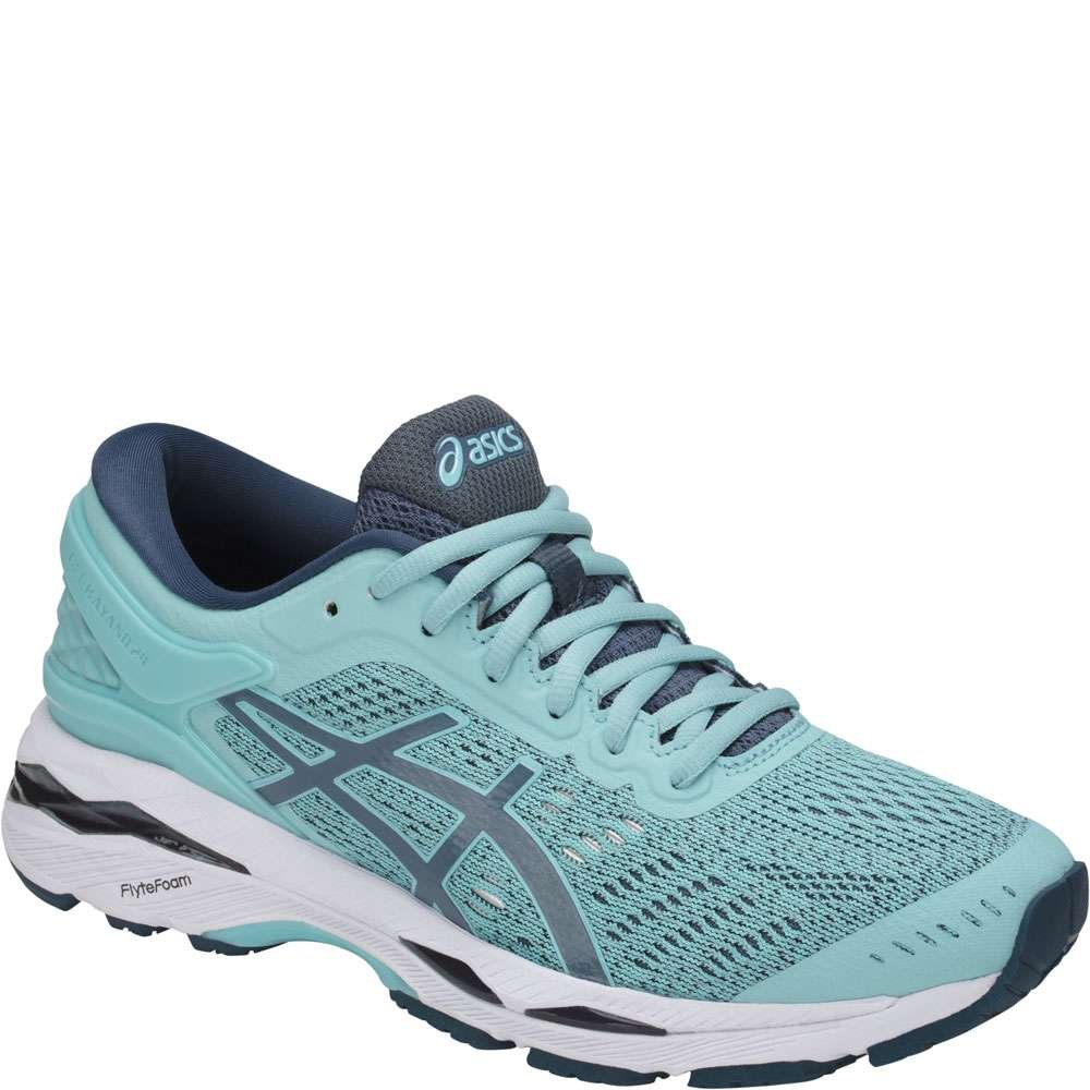 ASICS Women's Gel-Kayano 24 Running Shoe B0711TSDZF 10 B(M) US|Blue/Yellow