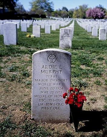 amazon com historicalfindings photo audie murphy s gravesite