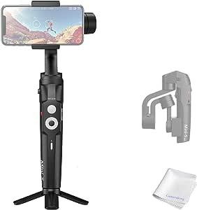 Moza Mini S Estabilizador cardán Plegable para Smartphone de 3 Ejes de cámara Inteligente para grabación de Movimiento (Reacondicionado)