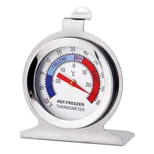 QUICKLYLY Termómetro de Cocina Clásico Marcar Refrigerador ...