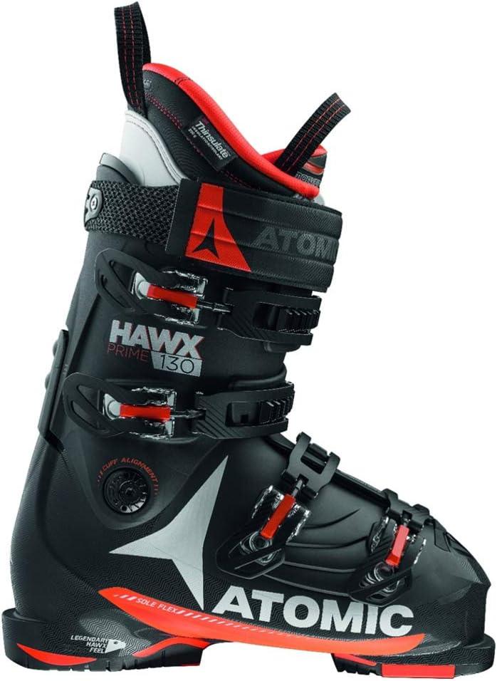 ATOMIC(アトミック)スキーブーツ HAWX PRIME 130(ホークスプライム130) AE5015660 黒×オレンジ 25.0-25.5