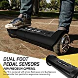 SWAGTRON T8 Lithium-Free Hover Board Startup Self Balancing & Durable Metal Casing Supports Up To 200 Lbs UL2272 Battery (Black)