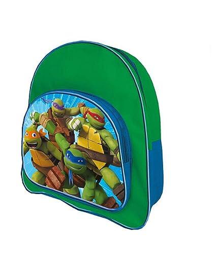 Tortugas Ninja 2018 Mochila Infantil, 35 cm, Multicolor ...