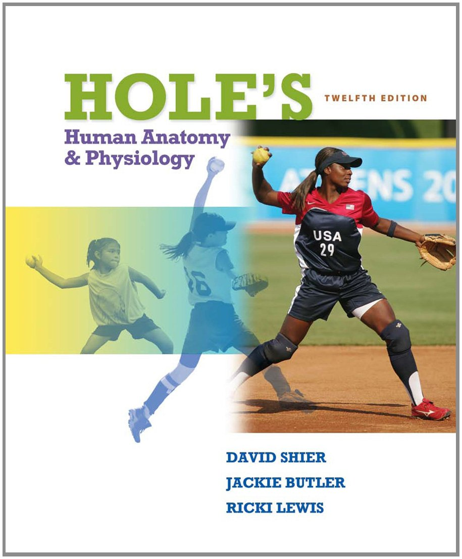 Hole\'s Human Anatomy and Physiology: SHIER: 9780077361341: Amazon ...