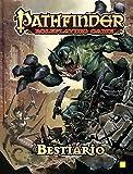 capa de Pathfinder RPG. Bestiário