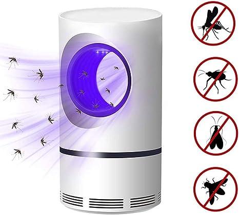 ZDXR Lámpara Antimosquitos para Proteger a los niños lampara de Mosquito para Hogar Interior Jardín Exterior Especialidad Aparato - Wraparound photocatalytic Violet Light: Amazon.es: Deportes y aire libre