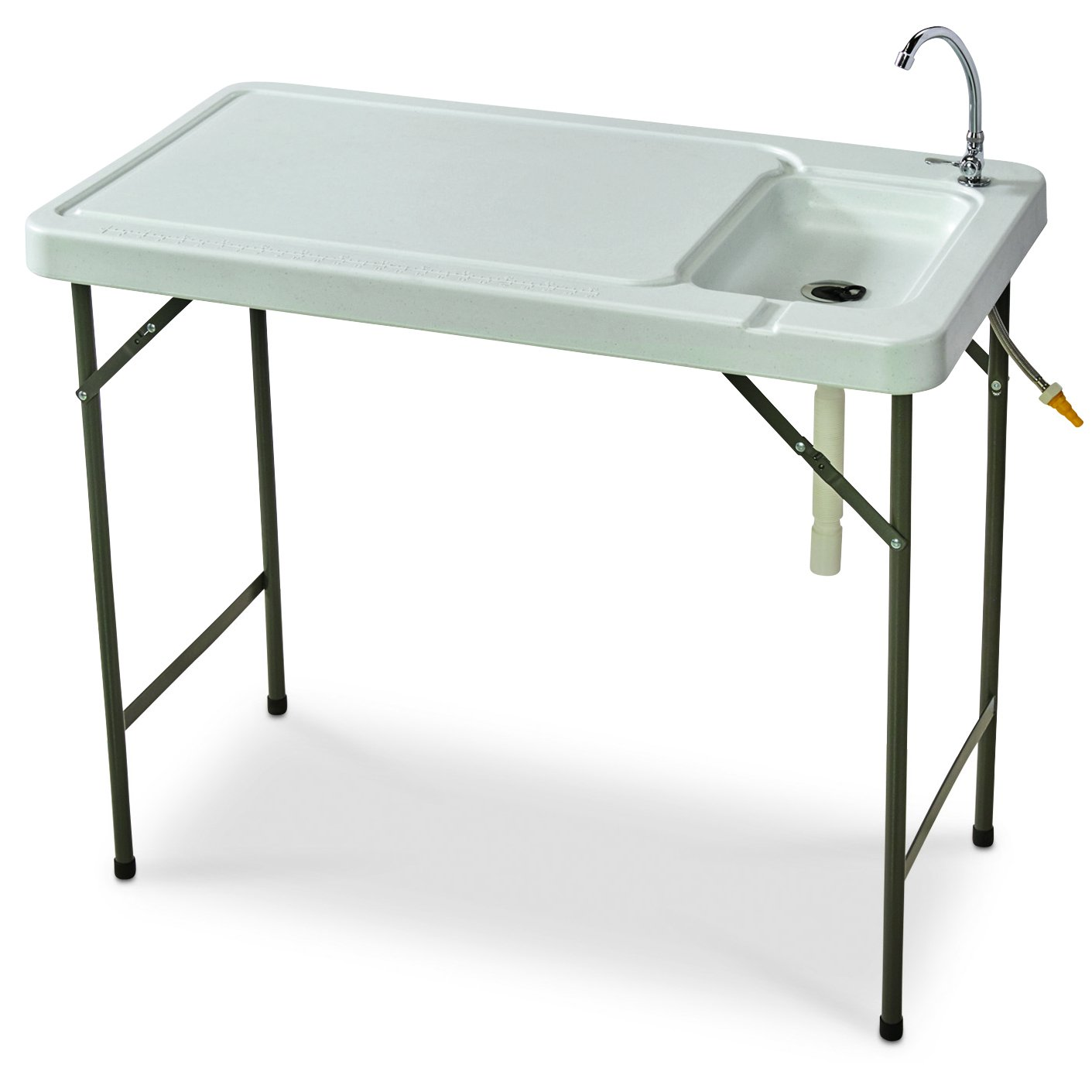 Amazon.com : Guide Gear Folding Fish/Game Cleaning Table with Sink ...