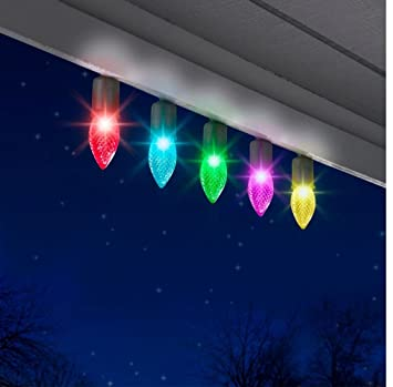 color changing led christmas lights gemmy light