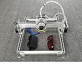 DIY 2500 laser engraving machine / Laser Engraver / wood /rubber/ plastic/ leather/Bamboo Working Area:16cm20cm