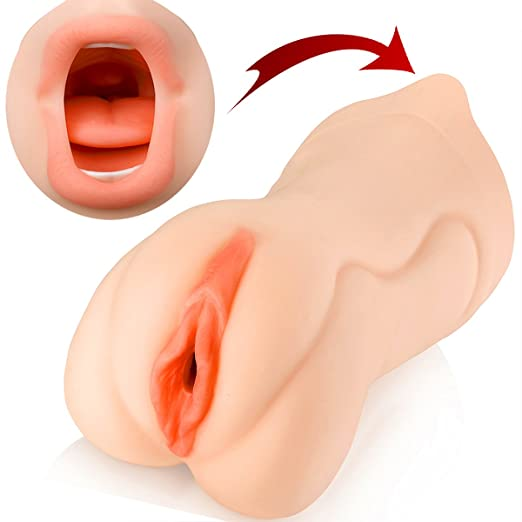 5. LEADO 3D Realistic Oral Blow Job and Vagina Stroker