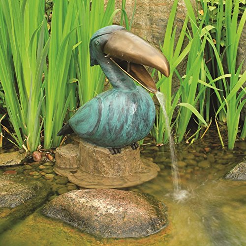 Aquascape Toucan Fountain Spitter for Pond, Landscape, Garden, and Water Features, Bird | 78011 by Aquascape