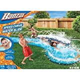 slip and slides for adults - Banzai Speed Curve Water Slide