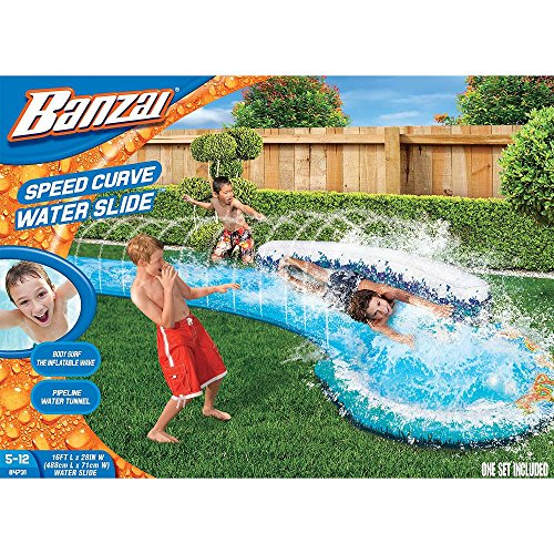New Banzai Speed Curve Water Slide