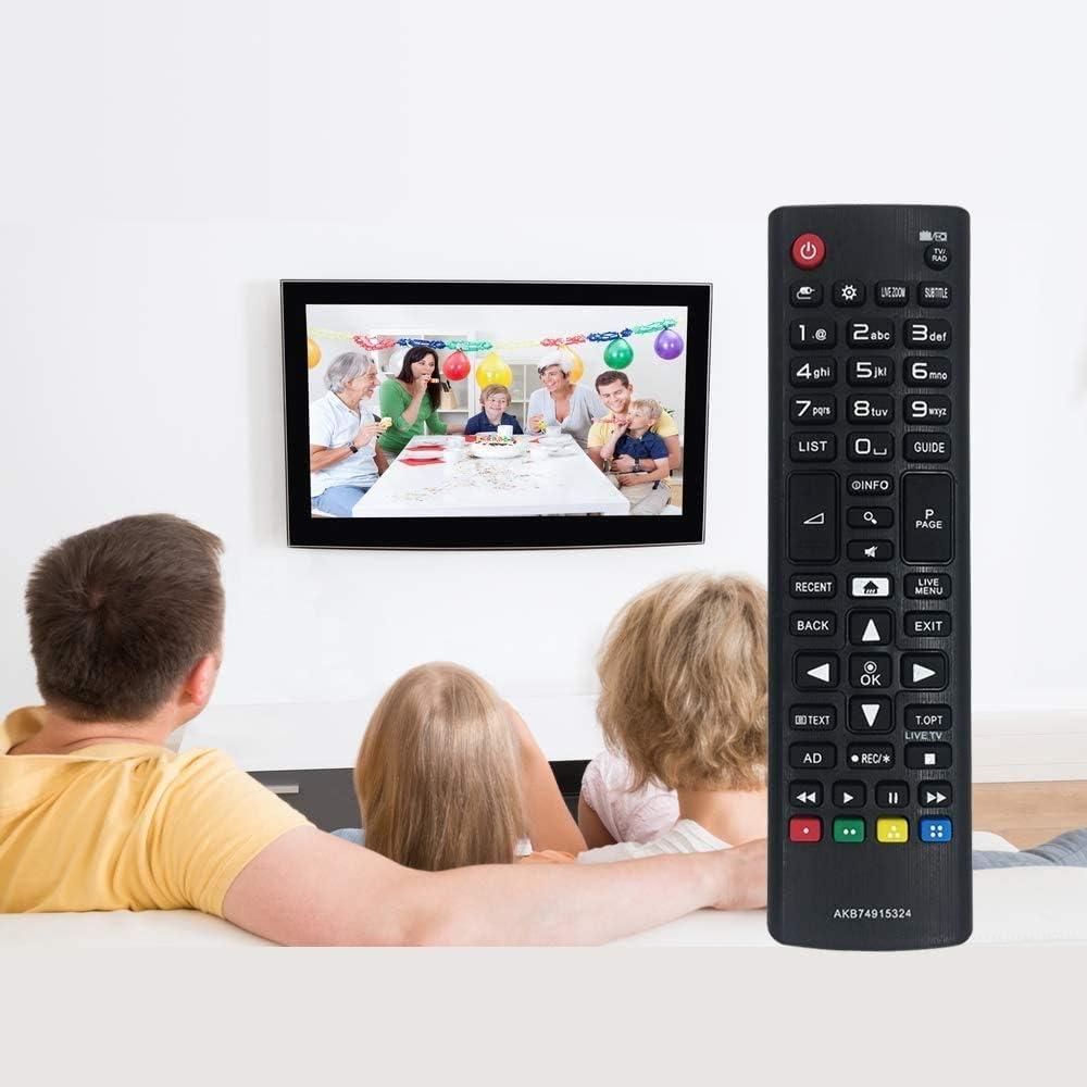 MYHGRC Reemplazo Mando a Distancia Pare LG AKB74915324 para LG Smart TV-No Requiere configuración Mando a Distancia para LG TV: Amazon.es: Electrónica