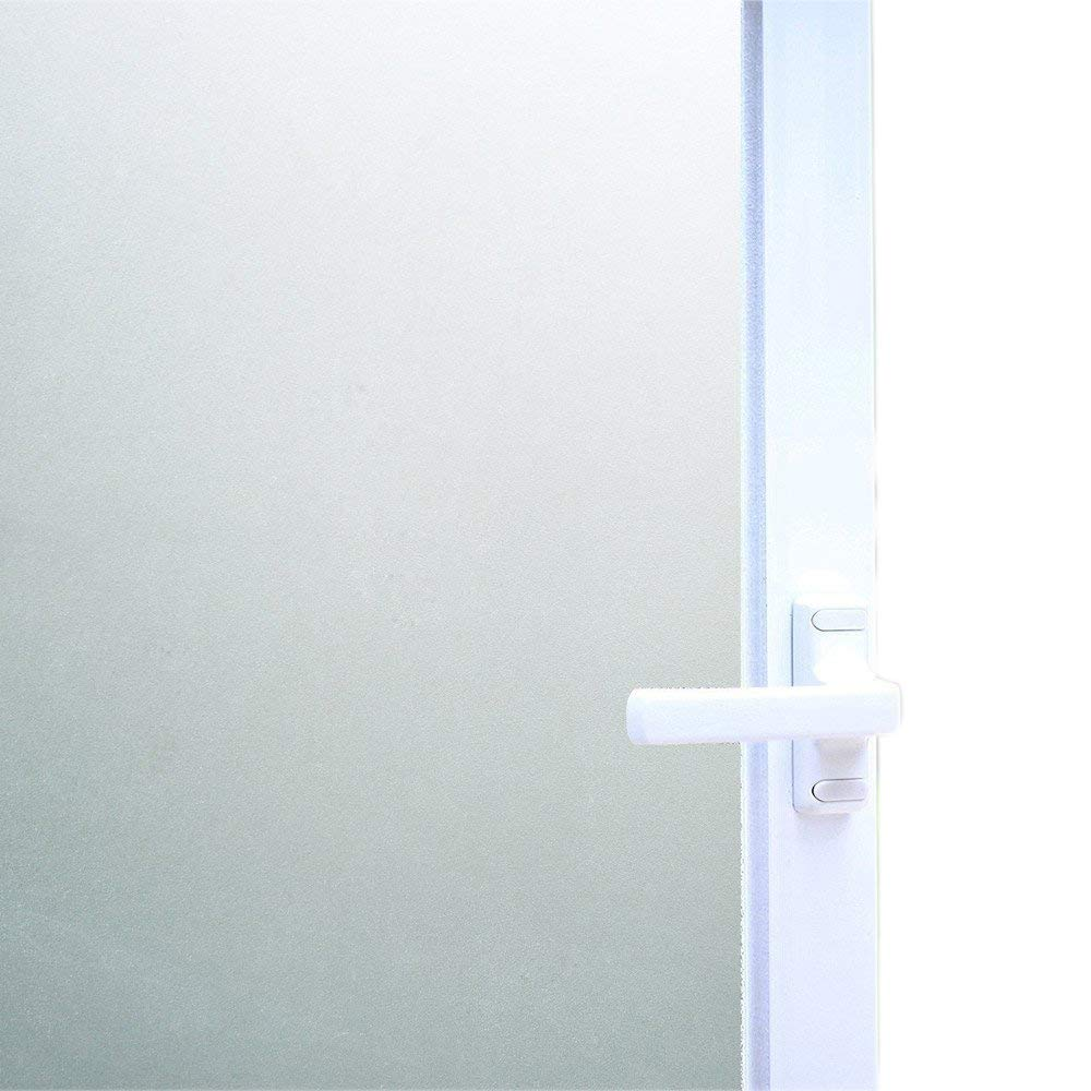 """Bloss Static Cling Privacy Film Frosted Glass Window Film Window Vinyl Window Covering Film (17.7"""" By 78.7"""",1 Roll)"""