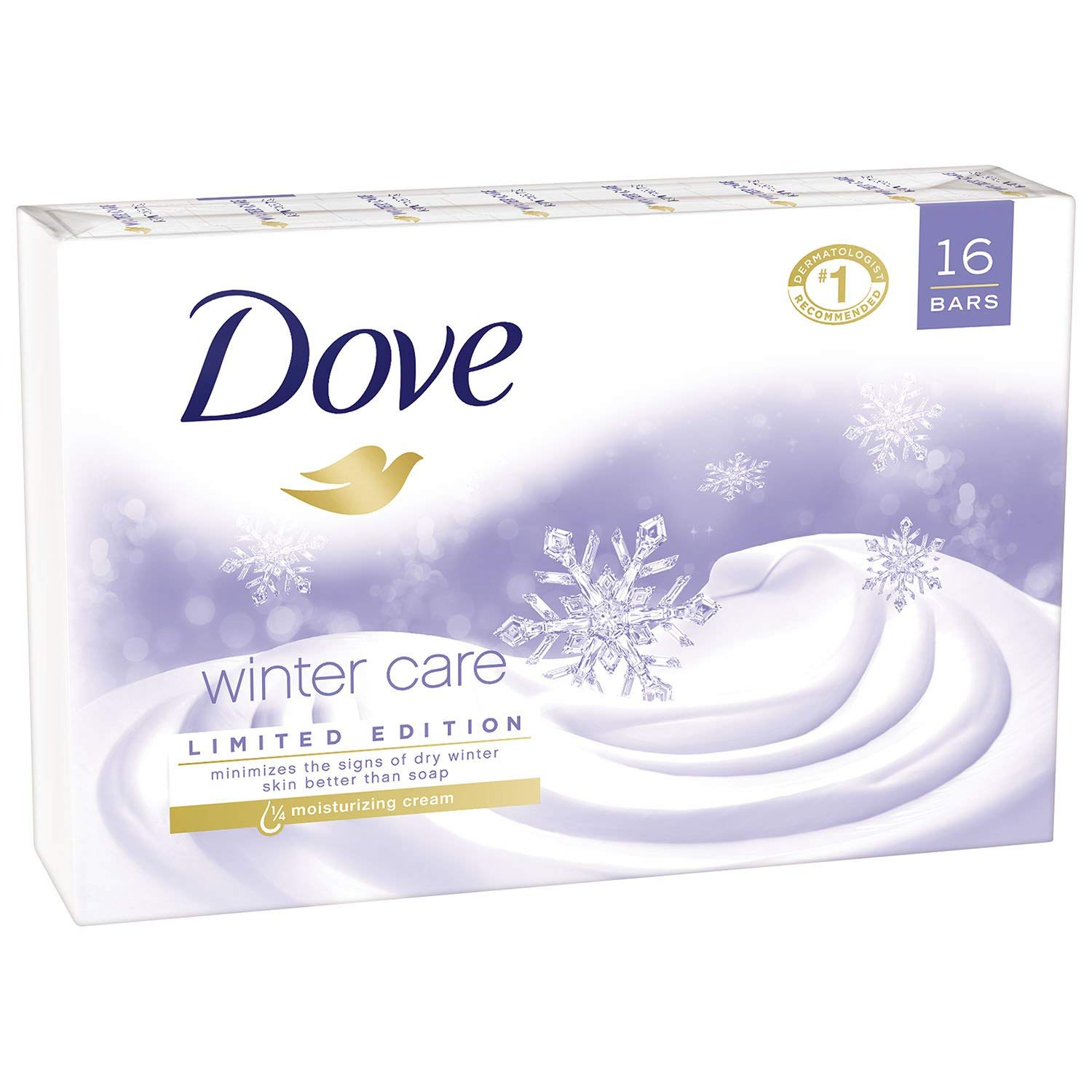 Dove Beauty Bar, Winter Care (4 oz, 16 ct.) by Dove (Image #3)