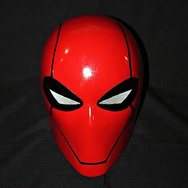 Custom Batman bajo la capucha roja casco máscara de disfraz de Halloween MA189