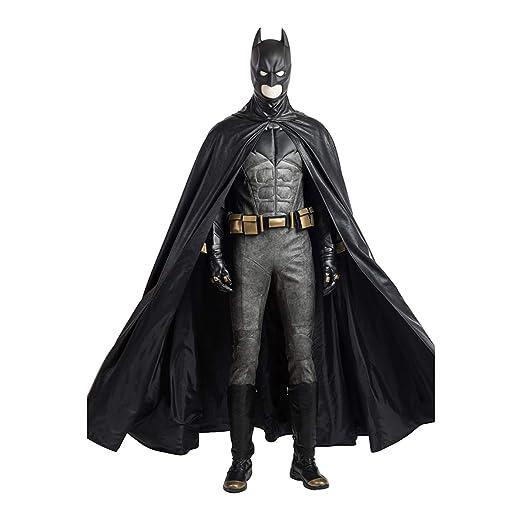 QWEASZER Justice League Dark Knight Batman 1: 1 Disfraz Edición ...