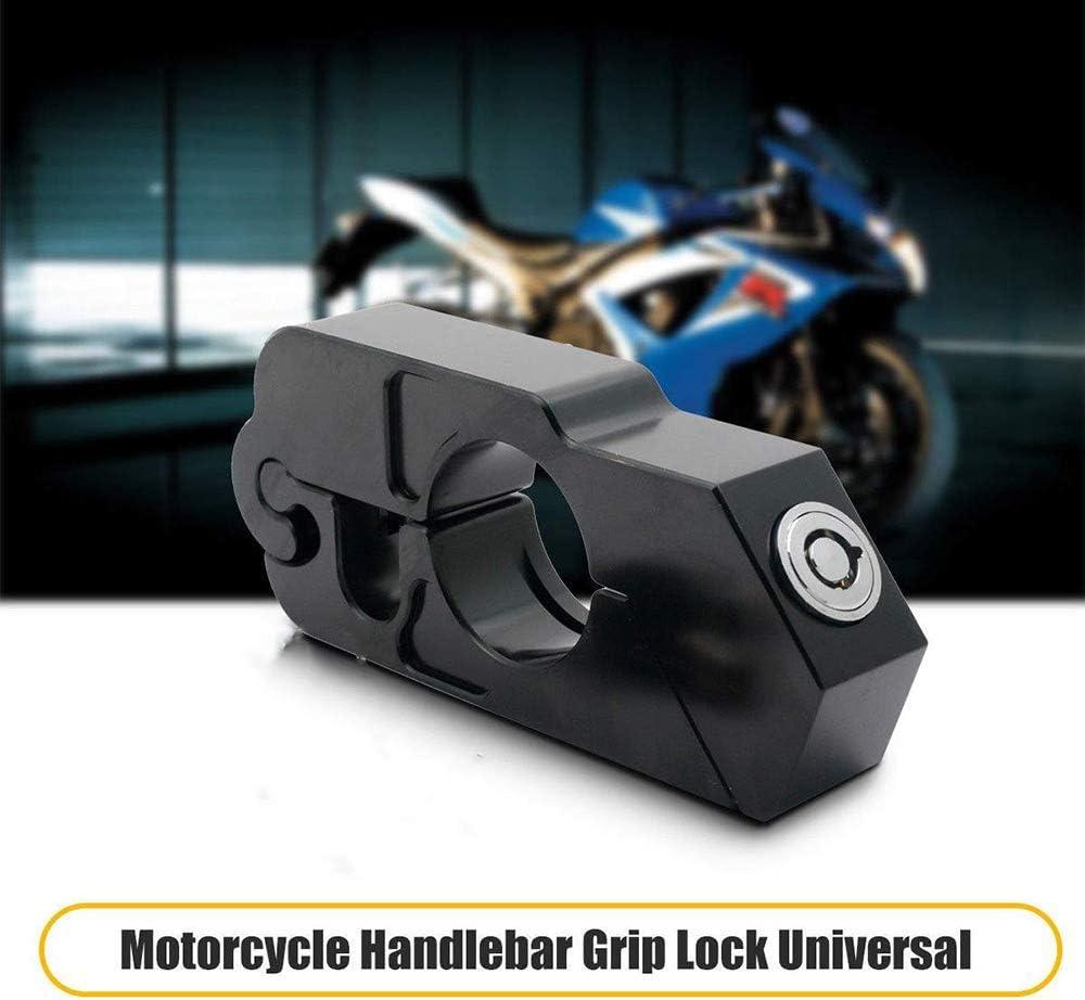 Motorrad FahrradSchloss Alarm Bremsscheibenschloss Gelb Grip Lock Rot SCHLOSS