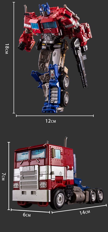 JINGYD Deformed Car Robot Manual Deformation Rambo Car Model Childrens Toys