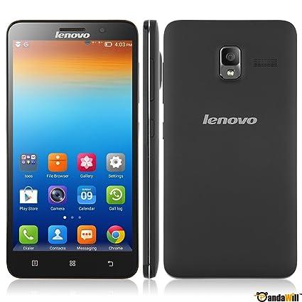 Amazon.com: 5.5-inch Unlocked Black Lenovo A850 3g Smartphone ...