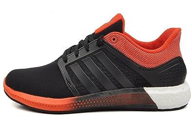 brand new a346e f9c6c Adidas Solar Boost M Chaussures de course noir   rouge   blanc, Couleur noir