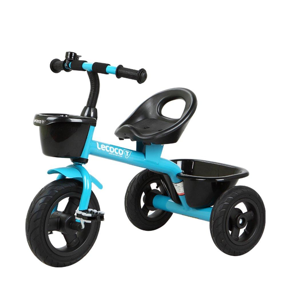 XQ 子供の三輪車自転車キッズバイク3-6歳 子ども用自転車 ( 色 : 青 ) B07CG9MC1T 青 青