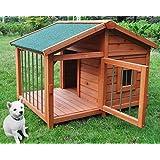 木製サークル犬小屋 DHDX007